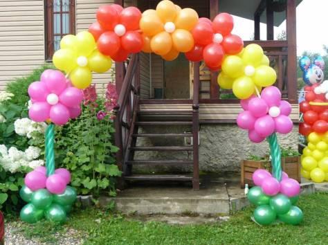 Как сделать арку своими руками из воздушных шаров