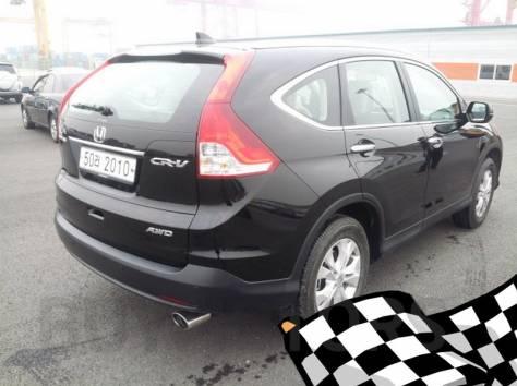 Honda CR-V 2013 год (черный), фотография 4