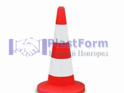 Пластиковые дорожные ограждения, фотография 4