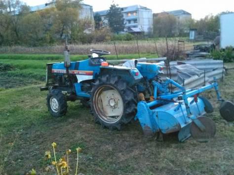 мини трактор, фотография 1