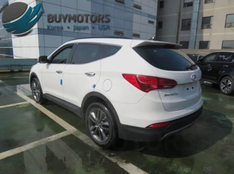 Hyundai Santa Fe 2013 год (белая), фотография 3