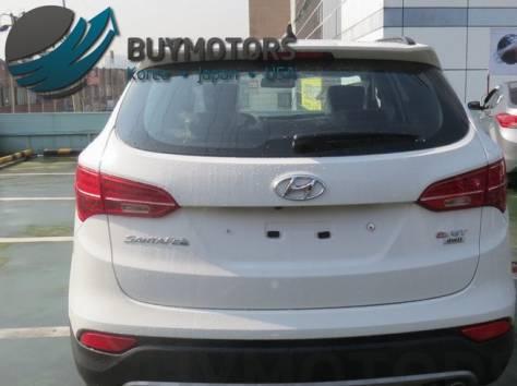 Hyundai Santa Fe 2013 год (белая), фотография 4