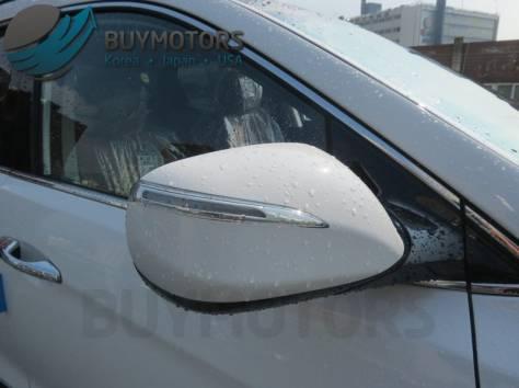 Hyundai Santa Fe 2013 год (белая), фотография 5