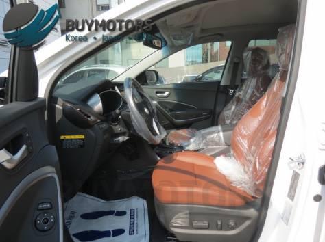 Hyundai Santa Fe 2013 год (белая), фотография 6