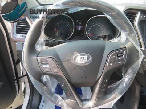 Hyundai Santa Fe 2013 год (белая), фотография 9