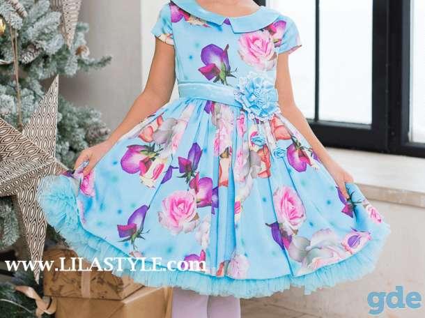 Нарядное детское платье для девочки 6-7 лет, фотография 3