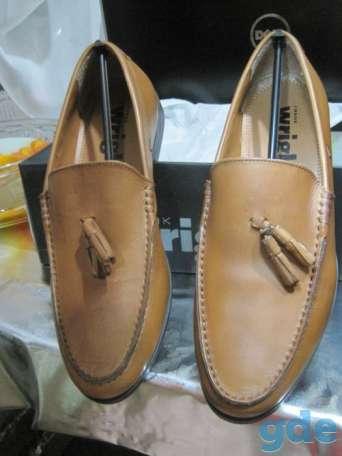 Туфли новые, 100 % натуральная кожа, размер сорок один ( сорок первый ) ( 41 ), белого и чёрного цветов, модели разные,, фотография 9