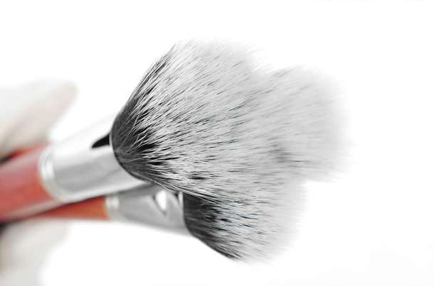 Профессиональный набор кистей 29 штук для макияжа из натурального ворса и дерева, фотография 3