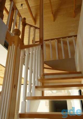 Лестницы деревянные, фотография 5
