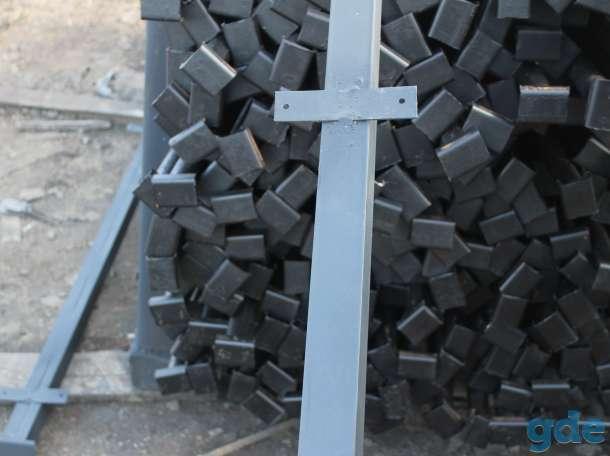 Столбы металлические, фотография 5