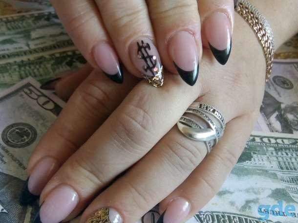 Прически и макияж,ногти и ресницы, фотография 4