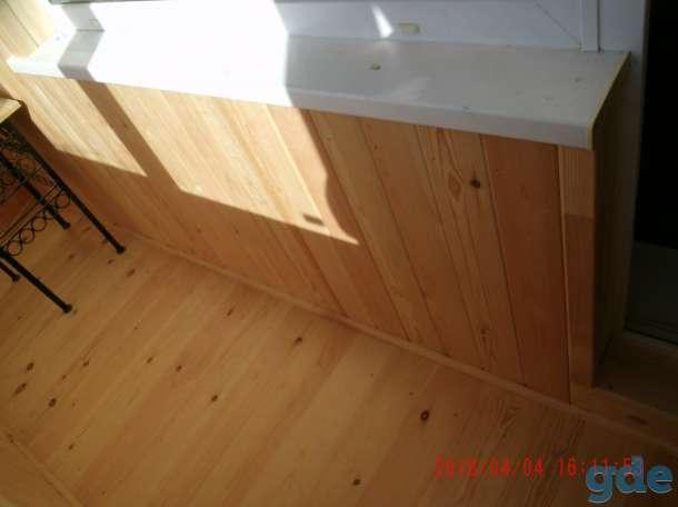 Отделка балконов,лоджий,прихожих, фотография 11