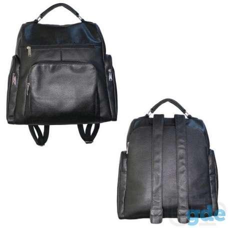 Рюкзак мужской из натуральной кожи 608Б, фотография 1