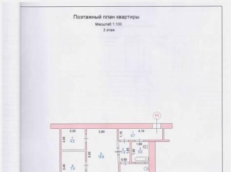 Продаётся 2-ух комнатная квартира 3/4, Тухачевского ул. дом 5, кв. 11, фотография 2
