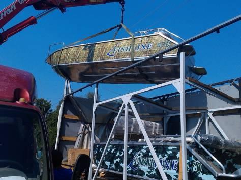 Лодка (Катер) FishLine (Фишлайн) 470, фотография 4