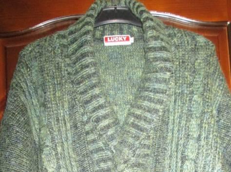 Пуловер мужской вязаный,  шерсть, р. 50 – 52, Lucky Fashion Wear, Индия., фотография 1