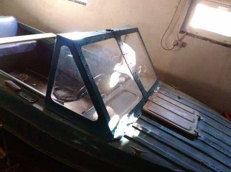лобовое стекло на лодку казанка 5м3, фотография 1