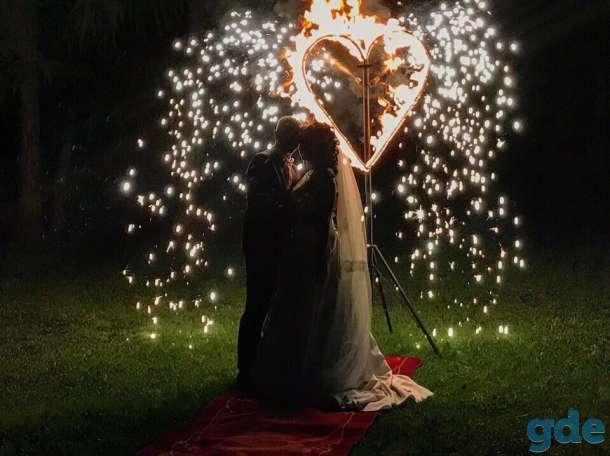 Огненное шоу на свадьбу фаер шоу, фотография 12
