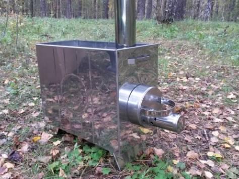 Походная баня ПБ-2 с печкой, фотография 11
