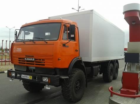 КАМАЗ 43118 с изотермическим фургоном, фотография 1