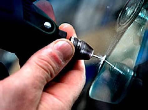 Как остановить трещину на стекле своими руками видео