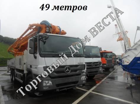 Автобетононасос ZOOMLION ZLJ5419THB 49X-6RZ, фотография 1
