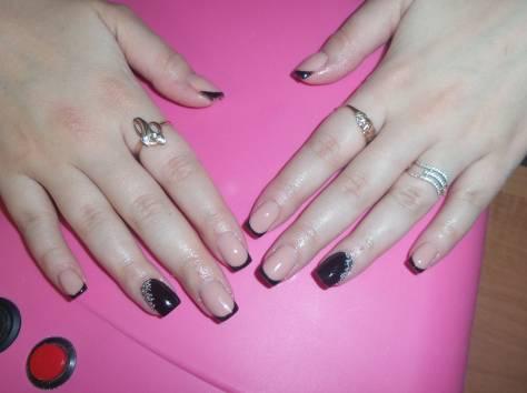 Наращивание ногтей гелем 1