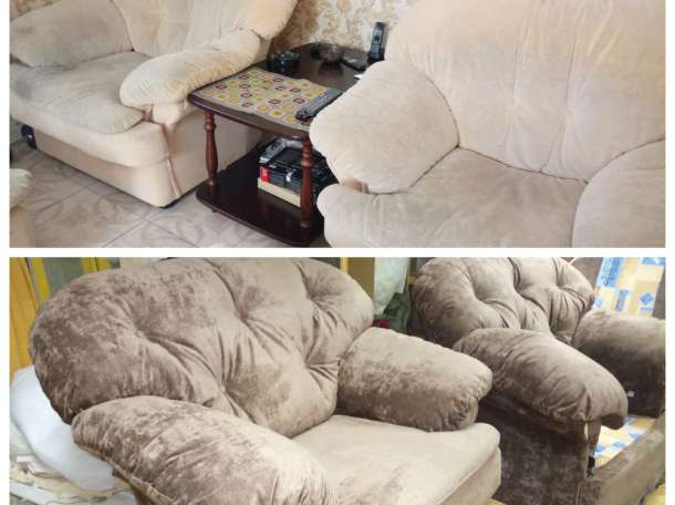 Перетяжка мебели, фотография 2