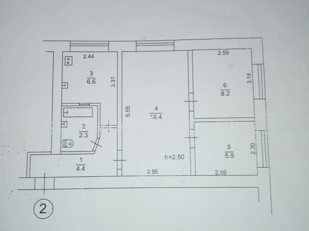 3-х комнатная квартира с. Вересаево Сакского р-на, фотография 1