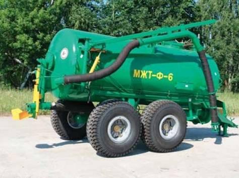 Машина для внесения органических удобрений МЖТ-Ф-6, фотография 1