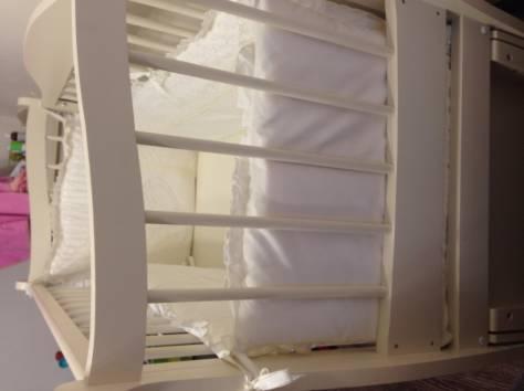 Продам детскую кроватку+комод с пеленальным столом+бортики в кроватку, фотография 8