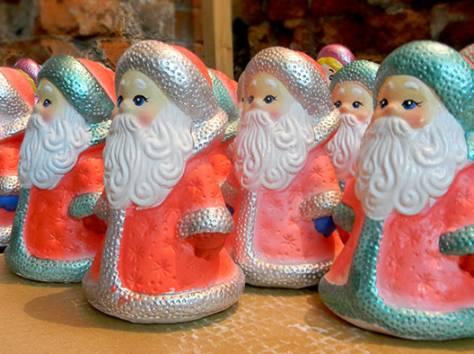 Игрушки Дед Мороз и Снегурочка под елку оптом, фотография 4