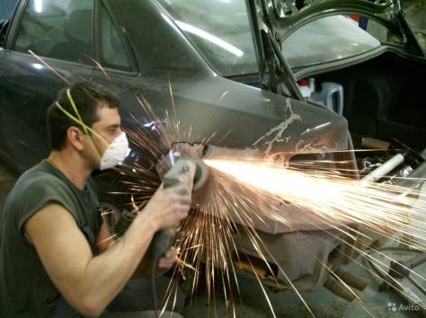 Кузовной ремонт, ремонт бамперов, фотография 1