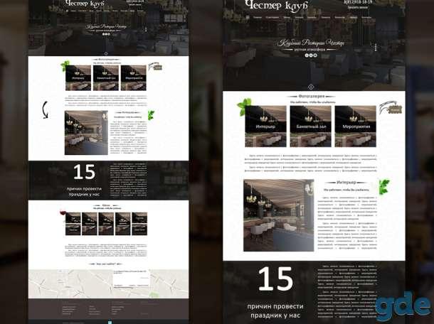 Веб дизайнер (landing page, интернет-магазин), фотография 6