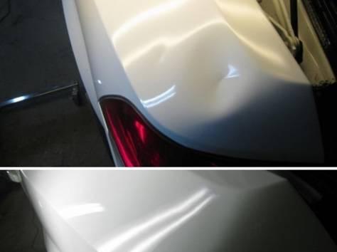 Удаление вмятин на кузове автомобиля без повреждения лакокрасочного покрытия, фотография 4