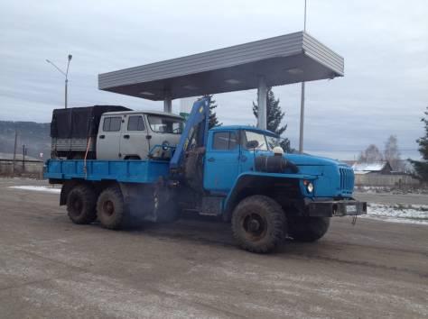 Продам Урал-бортовой 58491 с КМУ-1тн, фотография 1