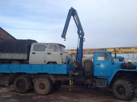 Продам Урал-бортовой 58491 с КМУ-1тн, фотография 3