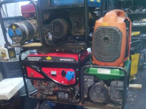 Ремонт и продажа генераторов, электростанций, мотопомп, виброплит..., фотография 1