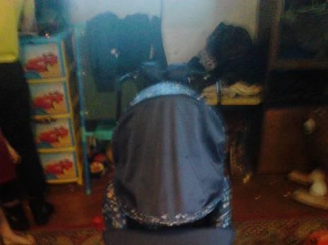 санки-коляска и коляска , фотография 2