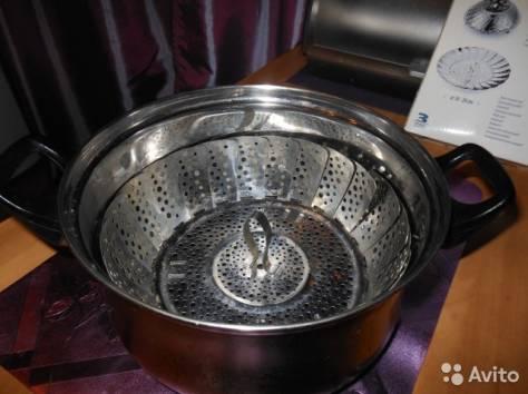 Пароварка cкладная из нержавеющей стали, фотография 5