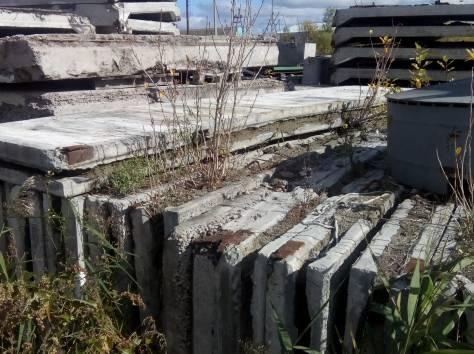 Плиты  перекрытия дорожные стеновые бу, балки фбс фермы ангар  бу, фотография 4