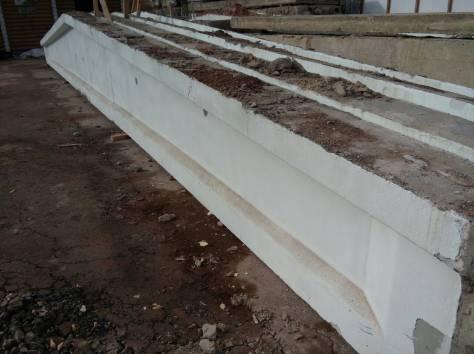 Плиты  перекрытия дорожные стеновые бу, балки фбс фермы ангар битый кирпич, фотография 5