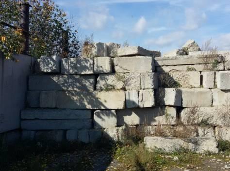 Плиты  перекрытия дорожные стеновые бу, балки фбс фермы ангар битый кирпич, фотография 6