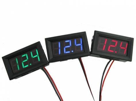 Цифровые вольтметры в корпусе, диапазон 0 - 30V, фотография 1