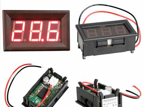 Цифровые вольтметры в корпусе, диапазон 0 - 30V, фотография 2
