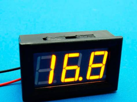 Цифровые вольтметры в корпусе, диапазон 0 - 30V, фотография 4