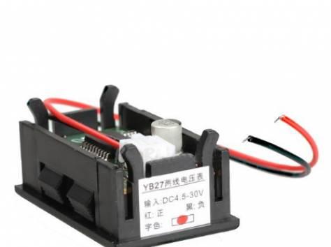 Цифровые вольтметры в корпусе, диапазон 0 - 30V, фотография 6