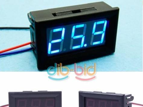 Цифровые вольтметры в корпусе, диапазон 0 - 30V, фотография 7