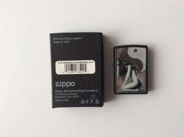 Зажигалка Zippo 218 Woman Sword, фотография 3