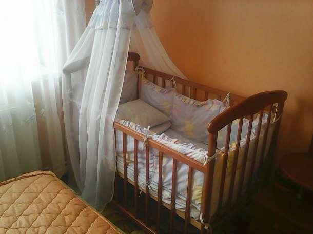 кроватка практически новая в комплекте, фотография 3